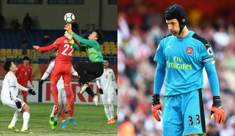 Thống kê kinh ngạc của thủ môn U23 Việt Nam khiến Petr Cech phải mơ ước