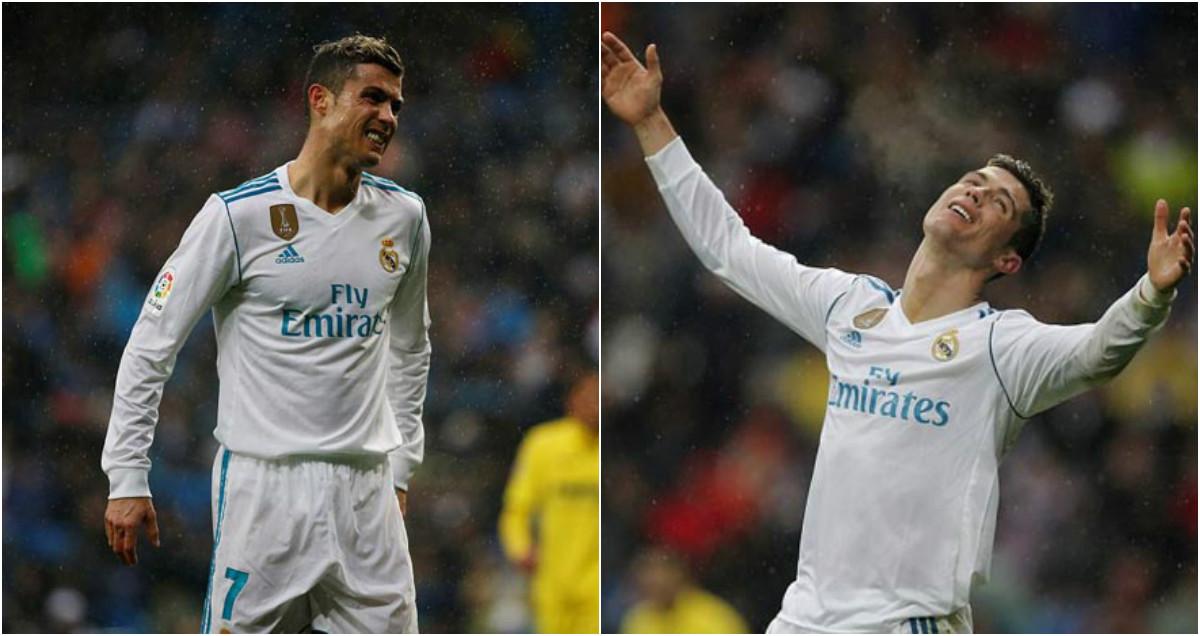 """CHÙM ẢNH: Ronaldo cực đỉnh của """"chân gỗ""""; Kiệt quệ dứt điểm 11 ăn 0"""