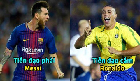 Huyền thoại Buffon chọn Messi, loại CR7 ra khỏi đội hình xuất sắc nhất mọi đại