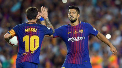 Messi-Suarez hủy diệt đối thủ, Barca tạo ra khoảng cách mênh mông với phần còn lại