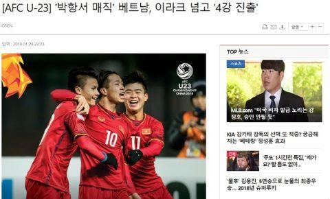 Báo Hàn Quốc: 'Các đội còn lại đang run sợ trước sức mạnh khó tả của U23 Việt Nam'