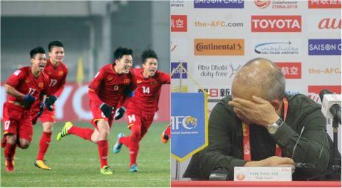 Khóc cạn nước mắt sau khi giúp Việt Nam viết cổ tích, HLV Park Hang Seo bất ngờ báo tin về con trai 8 tuổi