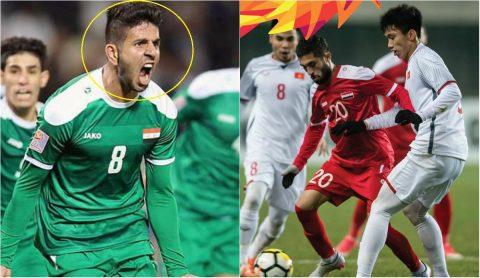 Đội trưởng U23 Iraq ngạo mạn, khinh thường U23 VN, nói điều khiến tất cả nóng mắt