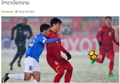 Báo Thái: 'Mong lá cờ đầu Việt Nam giúp đỡ phát triển'