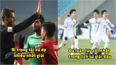 """Những cái """"nhất"""" của U23 Việt Nam tại VCK U23 Châu Á 2018"""