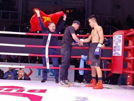 Vì U23, tay đấm Việt hạ gục võ sĩ Uzbekistan ngay thủ đô chủ nhà
