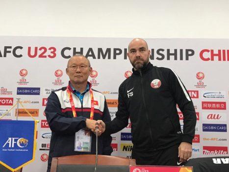 HLV Park Hang-seo: 'Tôi phát hiện không ít điểm yếu của U23 Qatar'