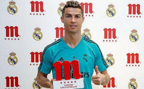 Sa sút thảm hại, Ronaldo vẫn bất ngờ nhận giải Cầu thủ hay nhất tháng