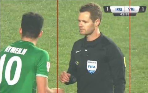 Trọng tài người Úc bắt chính trận U23 Việt Nam vs U23 Iraq từng dính 'rất nhiều phốt nặng'