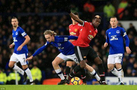 Chấm điểm cầu thủ M.U sau trận thắng trên sân của Everton: Show diễn của 'Captain P'