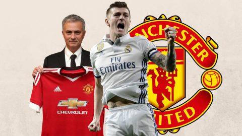 Vì lý do đặc biệt này, Real sẵn sàng bán Toni Kroos cho M.U