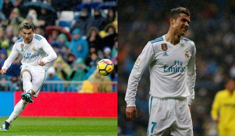 """Ronaldo sút 11 lần thất vọng, Kền kền trắng bị Villarreal """"xé  xác"""" ngay tại Bernabeu"""