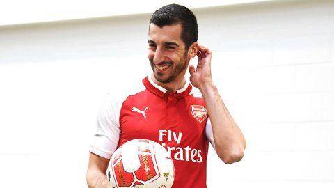 Henrikh Mkhitaryan CHÍNH THỨC hoàn thành giấc mơ gia nhập Arsenal