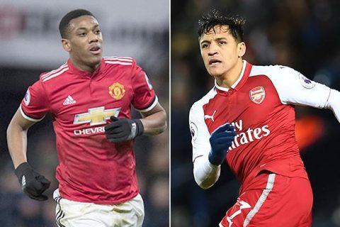 """""""Giáo sư"""" Wenger trở mặt phút chót, đòi bằng được Martial mới chịu nhả Sanchez cho M.U"""