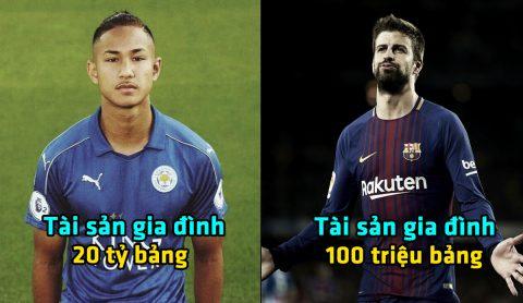 Hoàng tử Brunei và những siêu sao bóng đá sướng từ trong trứng