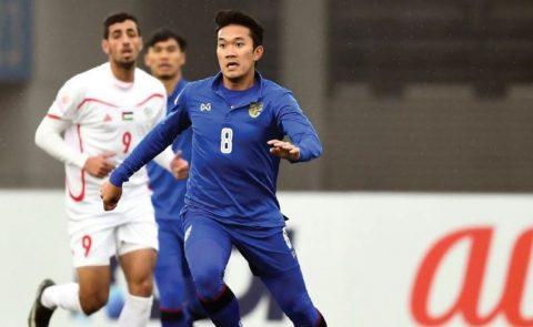 Kết quả U23 Thái Lan vs U23 Palestine: Thảm bại không tưởng, cúi đầu rời giải