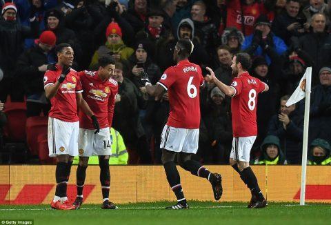 Chấm điểm M.U 3-0 Stoke City: Chiến thắng toàn diện