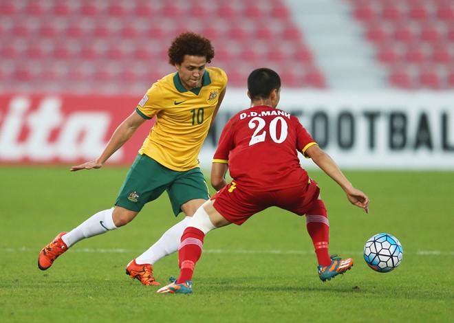 Cầu thủ Australia bực với U23 Việt Nam: Đá gì mà khó chịu thế!