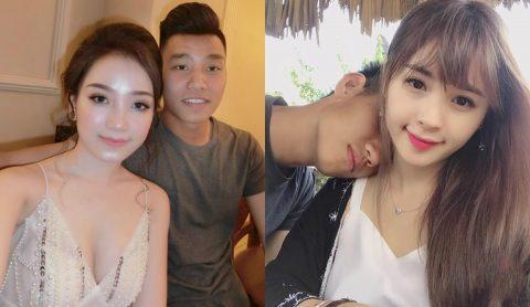 """TOP 10 soái ca U23 Việt Nam """"sở hữu"""" bạn gái xinh như thiên thần khiến fan trầm trồ"""