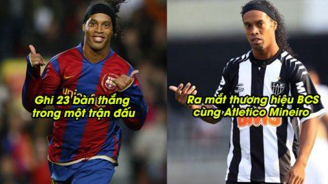 6 điều có thể bạn chưa biết về Ronaldinho: Mất cả đống tiền chỉ vì 1 Lon Pepsi hay ra mắt thương hiệu bao cao su