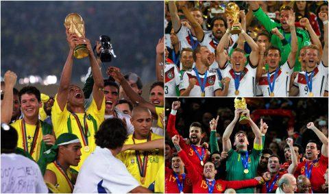 Top 10 ĐTQG hay nhất mọi thời đại do CĐV bình chọn: Hùng mạnh là thế nhưng Brazil vẫn phải hít khói cái tên này!