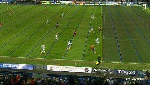 """CHÙM ẢNH: Công nghệ VAR gây tranh cãi khi từ chối bàn thắng """"hợp lệ"""" của Mata"""