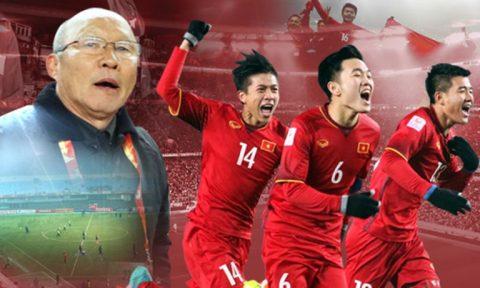 """BXH FIFA tháng 2/2018: Đón xuân Mậu Tuất, tuyển Việt Nam vẫn là """"Vua"""" Đông Nam Á"""