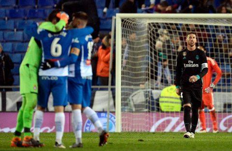 Vắng Ronaldo, Real gục ngã đau đớn ở phút bù giờ cuối cùng tại xứ Catalan