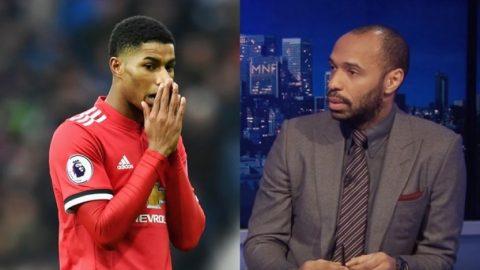 """Thierry Henry: """"Rashford nên sớm chia tay M.U, cậu ta không còn tương lai tại Old Trafford"""""""