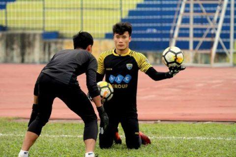 Trở về Thanh Hóa, Tiến Dũng ngay lập tức được trọng dụng tại AFC Cup vì tập luyện cực chăm chỉ