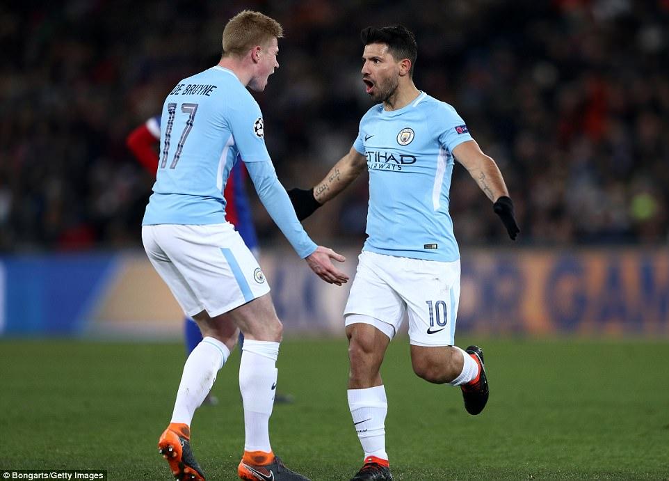 Hủy diệt chủ nhà Basel, Man City đặt cả 2 chân vào tứ kết với sức mạnh vô đối