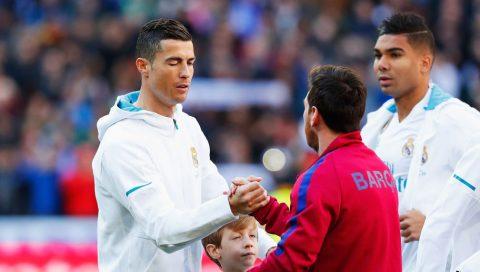 """Cuộc đua """"Vua phá lưới"""" Champions League: Ronaldo """"nhìn mỏi cổ"""" không thấy Messi"""