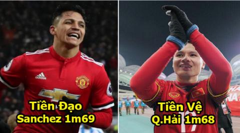 """Đội hình 11 """"chú lùn cao mét sáu"""" vẫn buộc cả thế giới phải ngước nhìn trong năm 2018 : Quang Hải sát cánh cùng Messi, Sanchez"""