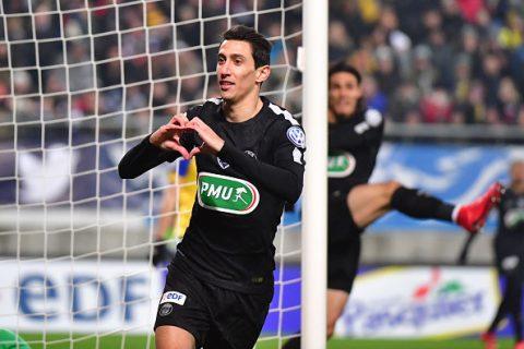 Lập Hat-trick đầu tiên sau gần 10 năm, Di Maria đưa PSG vào tứ kết cúp quốc gia Pháp