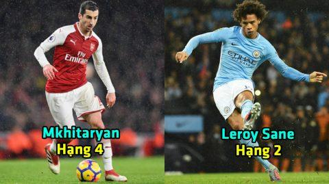 Top 10 cỗ máy kiến tạo tại Ngoại hạng Anh mùa này: Man City làm cả nước Anh nản lòng