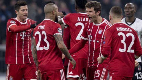 """Nghiền nát đại diện Thổ Nhĩ Kỳ với sức mạnh khủng khiếp, Bayern sớm """"book vé"""" vào tứ kết Champions League"""