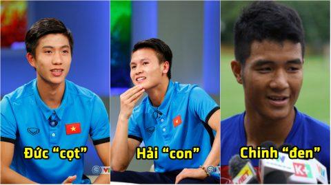 """""""Phì cười"""" với những biệt danh độc-lạ của dàn sao U23 Việt Nam"""