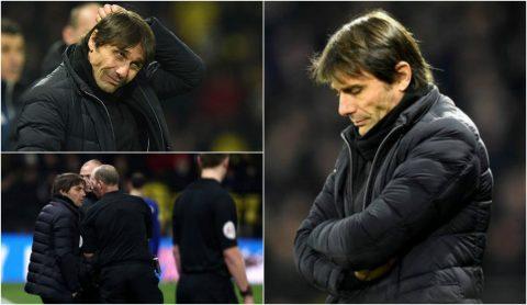 CHÙM ẢNH: Muôn vàn cảm xúc của Conte trong trận đấu có thể là cuối cùng với Chelsea