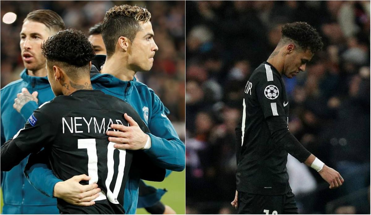 CHÙM ẢNH: Vua Ronaldo phô diễn quyền uy Cúp C1, Neymar cúi đầu khuất phục