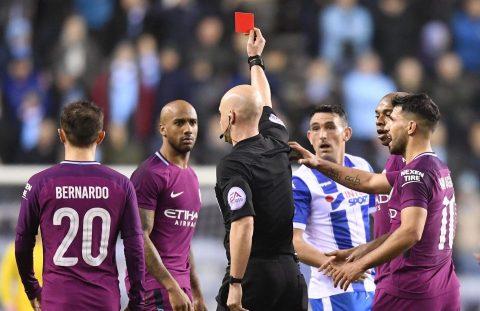 Kết quả Wigan vs Man City: Bước ngoặt thẻ đỏ, cú SỐC lịch sử