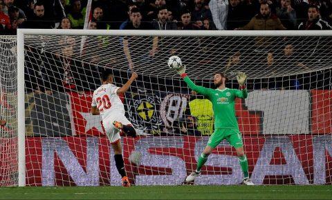 Không tin nổi vào mắt mình, sao Sevilla đã phải nói lời này trước pha cứu thua điên rồ của de Gea