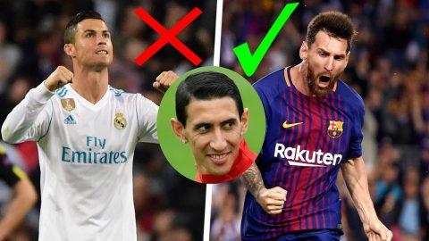 """Di Maria: """"Ronaldo giỏi thật đấy nhưng Messi mới là người xuất sắc nhất, sự thật luôn là vậy"""""""