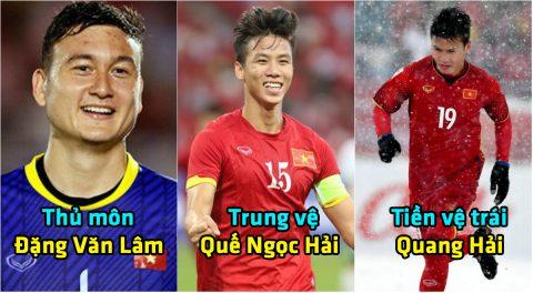 Dự đoán đội hình siêu khủng của Việt Nam tại AFF CUP 2018: Cạnh tranh khốc liệt ở từng vị trí