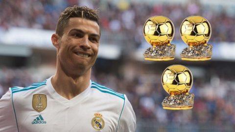 Ronaldo tuyên bố giành thêm 3 Quả bóng vàng trước khi giải nghệ