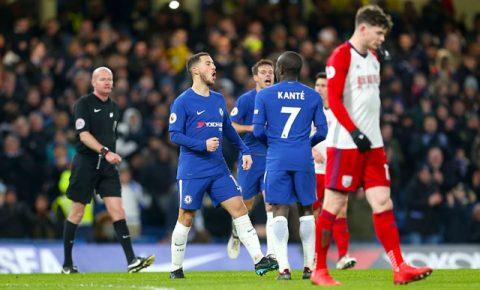 Hazard chói sáng, Chelsea chấm dứt chuỗi 2 thất bại liên tiếp bằng chiến thắng tưng bừng
