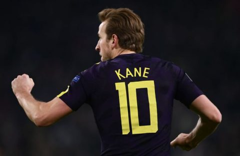 Harry Kane lập kỉ lục siêu khủng ở Champions League