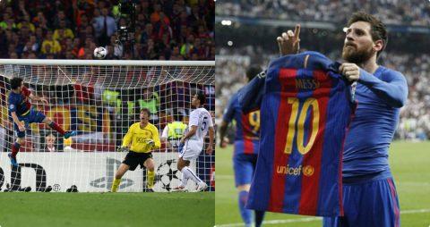 CHÙM ẢNH: 14 khoảnh khắc đặc biệt nhất trong sự nghiệp do Messi tự chọn