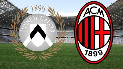 Udinese – AC Milan: Siêu phẩm chân trái, sức ép dữ dội