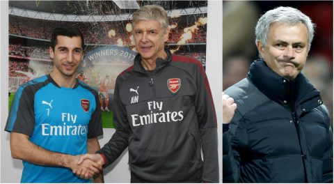 Ra mắt như mơ tại Arsenal, Mkhitaryan chê Mourinho khó tính, ca ngợi Wenger hết lời