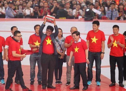 U23 Việt Nam nhận thêm gần 10 tỷ đồng tiền thưởng tại TP.HCM